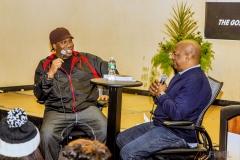Hip Hop Presents KRS-One  &  Uncle Ralph Interview Photos--20