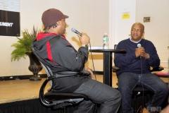 Hip Hop Presents KRS-One  &  Uncle Ralph Interview Photos--23