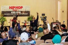 Hip Hop Presents KRS-One  &  Uncle Ralph Interview Photos--36