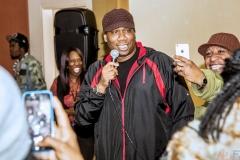 Hip Hop Presents KRS-One  &  Uncle Ralph Interview Photos--75