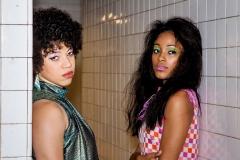 MTA Vintage Train 70s Fashion Shoot Photos-Eseni  &  Carmen--10